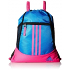 adidas Alliance II Sackpack (Shock Blue/Shock Pink) - Tennis Racquet Bags