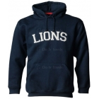 A4 Men's 11 Oz. Fleece Pull-Over Hood (Navy) - Men's Tennis Apparel