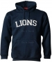 A4 Men's 11 Oz. Fleece Pull-Over Hood (Navy) - Men's Outerwear Tennis Apparel