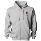 A4 Men's 9.5 Oz. Fleece Zippered Hood - Tennis Apparel Brands