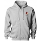 A4 Men's 9.5 Oz. Fleece Zippered Hood - Men's Outerwear Jackets Tennis Apparel
