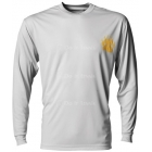 A4 Men's Cooling Performance Long Sleeve Crew - A4 Men's Long-Sleeve Shirts Tennis Apparel