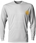 A4 Men's Cooling Performance Long Sleeve Crew - Men's Tops Long-Sleeve Shirts Tennis Apparel