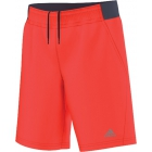 Adidas Boys Barricade Shorts (Solar Red/ Midnight Grey) - Boy's Tennis Apparel