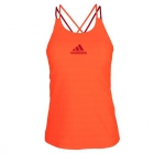 Adidas Women's All Premium Strappy Tennis Tank (Solar Red) - Women's Tennis Apparel