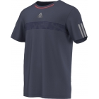 Adidas Men's Barricade Tee (Midnight Grey/ Solar Red) - Men's Adidas Apparel