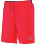 Adidas Men's Barricade Climachill Shorts (Solar Red) - New Style Tennis Apparel