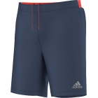 Adidas Men's Barricade Climachill Shorts (Midnight Grey/ Solar Red) - Men's Shorts Tennis Apparel