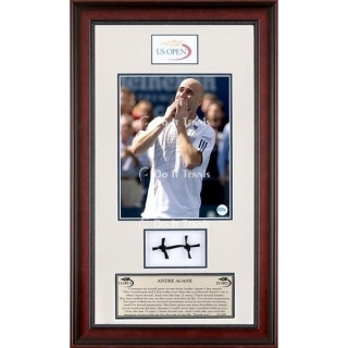 Ace Authentic Andre Agassi Farewell Memorabilia