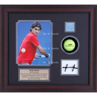 Ace Authentic R Federer 08 US Open Used Memorabilia
