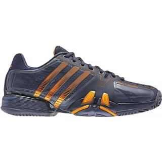 Adidas Barricade 7 Mens Tennis Shoes (Pur/ Org)