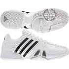 Adidas Barricade 7 Mens  (Wht/ Blk/ Sil) - Men's Tennis Shoes