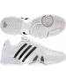 Adidas Barricade 7 Mens  (Wht/ Blk/ Sil) - Adidas Barricade Tennis Shoes