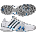 Adidas Barricade 7 Mens Shoes (Wht/ Blu/ Gry) - Types of Tennis Shoes