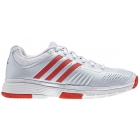 Adidas Barricade 7 Womens Shoes White/Red - Adidas Barricade Tennis Shoes