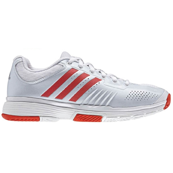Adidas Barricade 7 Womens Tennis Shoes White/Red