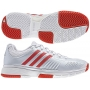 Adidas Barricade 7 Womens Shoes White/Red