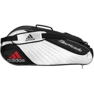 90d488e4d1f7 Adidas Barricade II Tour 3 Pack Tennis Bag (Blk  Wht) - Do It Tennis