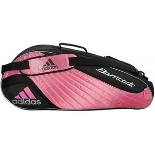 0ee4e27e5bad Adidas Barricade II Tour 3 Racquet Tennis Bag (Pnk  Wht) - Do It Tennis