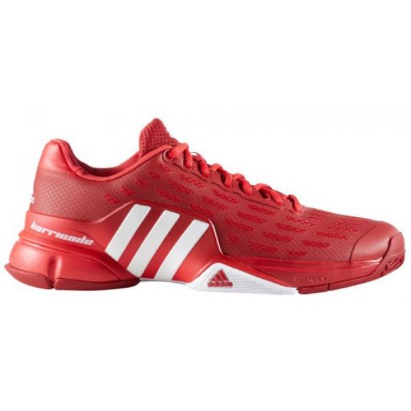 adidas uomini barricata scarpa da tennis (potere rosso / bianco / ray rosso) da fare