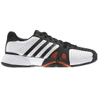 Adidas Barricade Team 2 Mens Shoes Wht/ Blk/ Red - Adidas Barricade Team Tennis Shoes