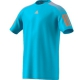 Adidas Men's Barricade Tennis Tee (Samba Blue/Glow Orange) - MAP Products