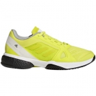 Adidas Women's aSMC Barricade Boost Tennis Shoe (Aero Lime/Cloud White/Core Black) - Performance Tennis Shoes