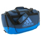 Adidas Defender II Medium Duffel Bag (Mineral Blue/Shock Blue) - Tennis Bag Brands