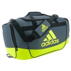 Adidas Defender II Medium Duffel Bag (Onix/Semi Solar Slime) - Tennis Bag Brands