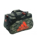 Adidas Diablo Small Duffel Bag (Cab Camo Base Green/Bold Orange) - Adidas Tennis Bags