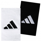 Adidas Interval Large Tennis Wristbands (Navy & Wht) - Adidas