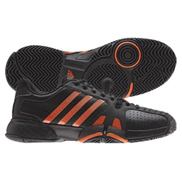 adidas barricade team 2 black/orange mens shoe