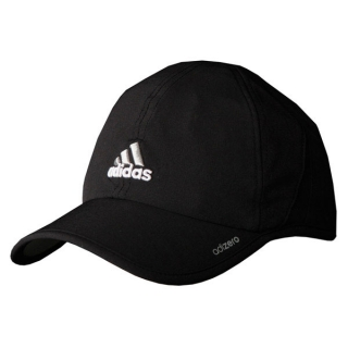 Adidas Men s adiZero Tennis Cap (Blk  Gry) - Do It Tennis 4fdce7e06793