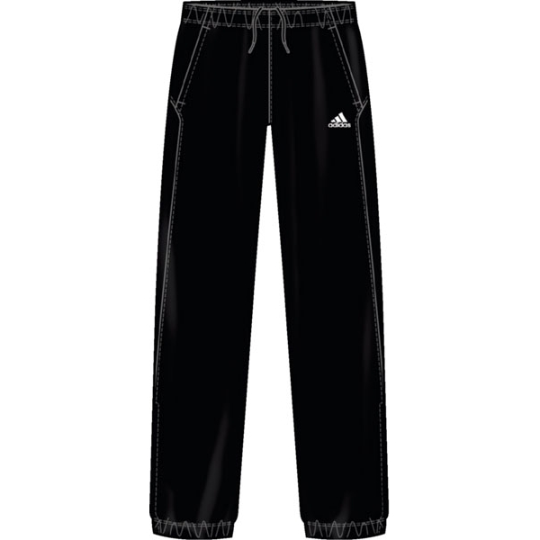Adidas Men's Barricade Team Pant (Black)