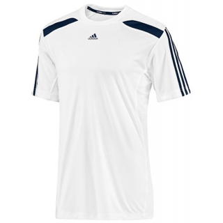 Adidas Men's Response Tee (White/ Navy)