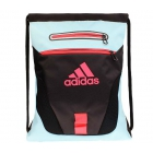 Adidas Rumble Sack Backpack (Black/Blue Zest/Shock Red) - Tennis Racquet Bags