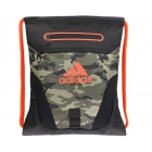 Adidas Rumble Sack Backpack (Cab Camo/Bold Orange) - Tennis Racquet Bags
