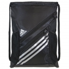Adidas Strength Sack Backpack (Black/Silver) - Tennis Racquet Bags