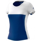 Adidas Women's T16 CC Team Tennis Tee (Blue/White) - Adidas Apparel