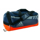 Adidas Team Issue Medium Duffel Bag (Collegiate Navy/Bold Orange) - Tennis Racquet Bags