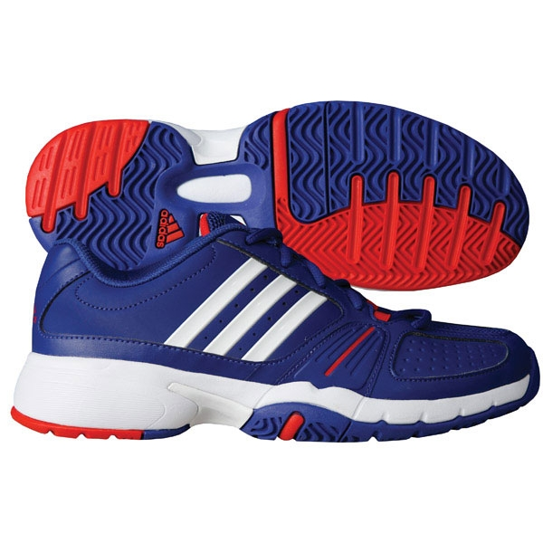 Adidas Women's adipower Barricade Team 2.0 (Blu/ Wht/Red)