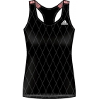Adidas Women's Essential Tank 1 (Blk/ Wht) - Adidas Tennis Apparel
