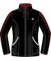 Adidas Women's Response Warm-Up Jacket (Black/Orange) - Women's Outerwear Jackets Tennis Apparel