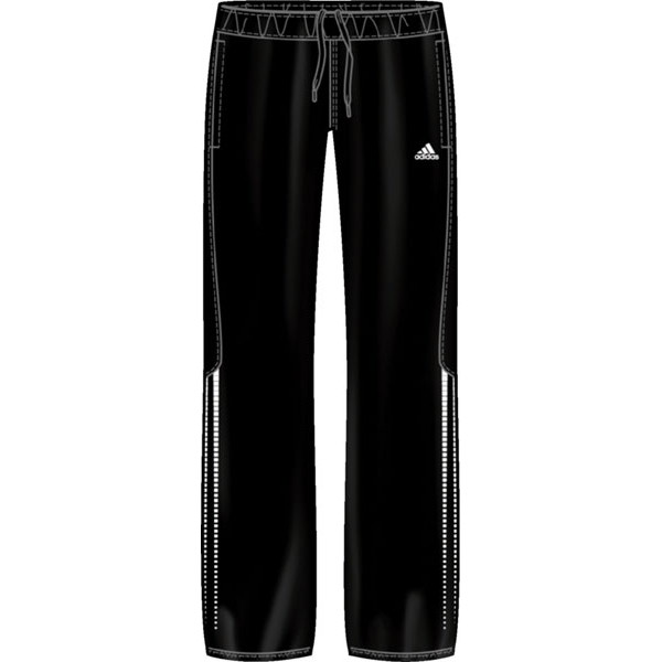 Adidas Women's Response Warm-Up Pant (Black/ White)