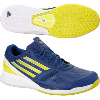 adidas adizero ace s tennis shoe blue yellow from