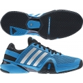 Adidas Men's Barricade 8 Tennis Shoes (Solar Blue/ Black)