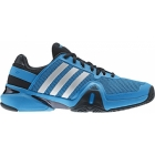 Adidas Men's Barricade 8 Tennis Shoes (Solar Blue/ Black) - Shoes
