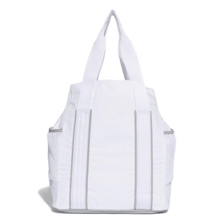 3604e527a1 Adidas by Stella McCartney Women s Tennis Bag (White Mid Grey Gun Metal)