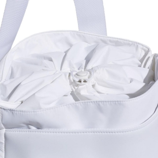 Adidas by Stella McCartney Women s Tennis Bag (White Mid Grey Gun Metal) b1237beb33