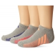 Adidas Girls' ClimaCool Cushioned 3-Pack No Show (Medium) - Adidas Apparel